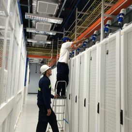 Limpieza de obra Antel Data Center 20