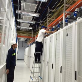 Limpieza de obra Antel Data Center 15